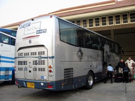 New bus from Suvarnabhumi to Hua Hin