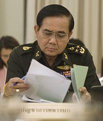 General Prayuth Chan-ocha, Commander-in-Chief of the Royal Thai Army