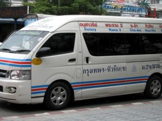 Minivan to Cha-am