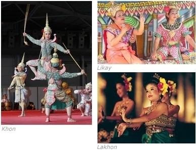 Danses thaïlandaises