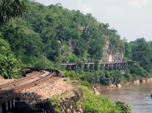 Une portion du chemin de fer de la mort