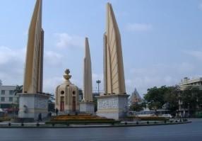Le Monument de la Démocratie à Bangkok