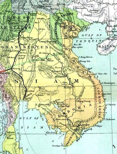 Indochina in 1886