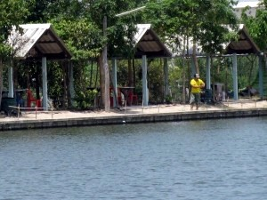 At Khao Yai Fishing Park.