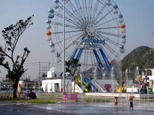 La grande roue, qui indique l'arrivée sur Cha-am quand on vient de Bangkok.