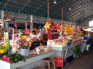 Cha-am fresh market