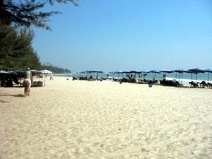 La plage de Cha-am