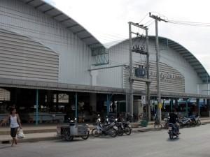 Le marché de Cha-am.