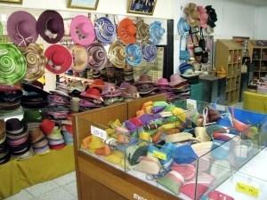 Des chapeaux de chanvre à Hup Kapong.