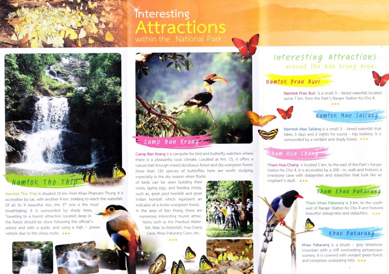 Kaeng Krachan brochure
