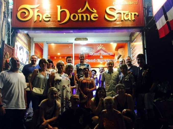 Friends at The Home Star