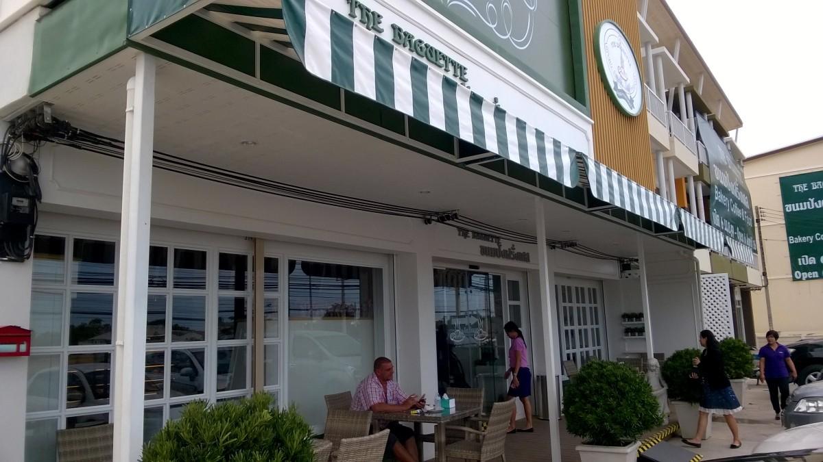 The Baguette's new shop.