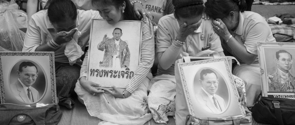 Death of the King of Thailand