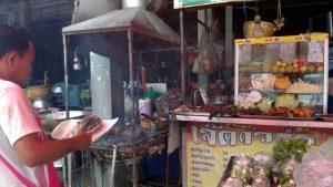 At Cha-am market